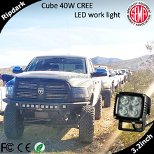 Super bright 40w led tuning light for truck with 10w chip