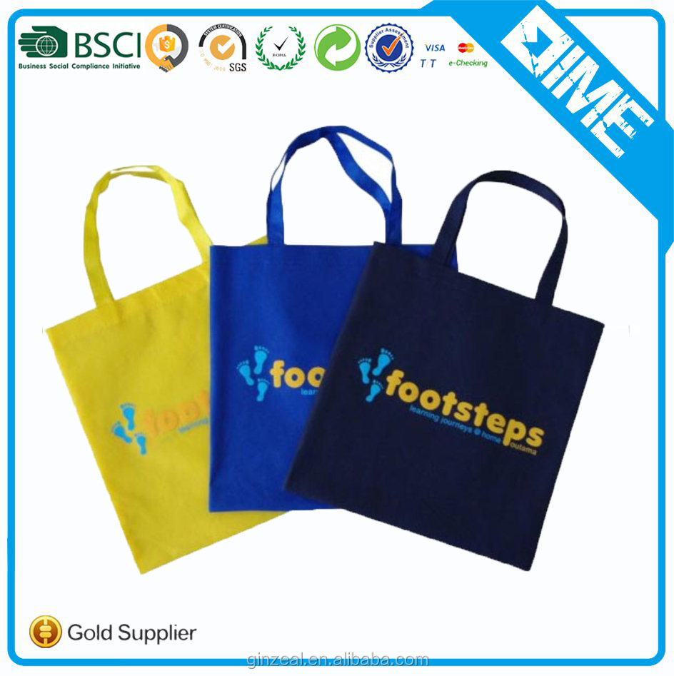 Promotional Cheap Custom Non Woven Fabric Shopping Bag