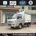 Hot sale 1.5T low speed small electric box truck