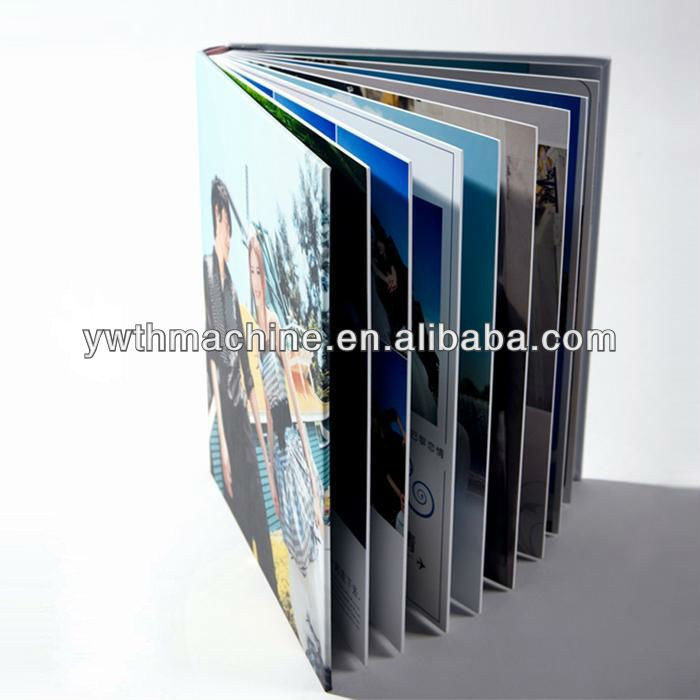 Hard Rigid White/Black Wedding Album Photo Book Self-Adhesive PVC Sheets