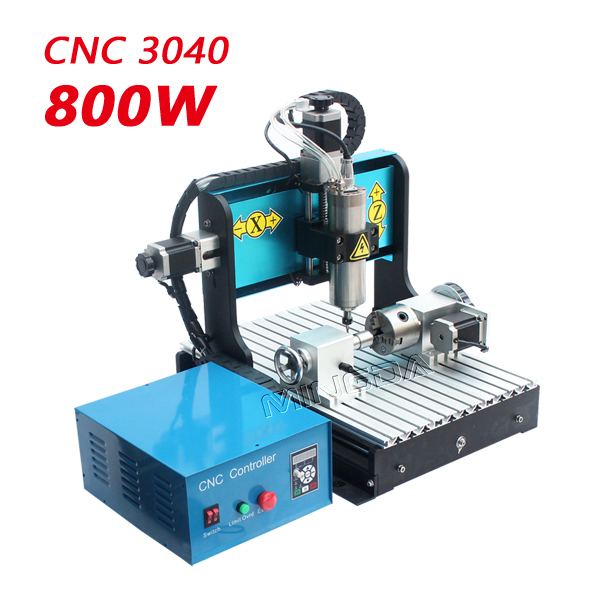 5 axis mini cnc router 3040 wood carving machine 5 axis 3040 cnc milling engraving machine