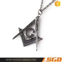 Fashion handwork nepal silver masonic jewelry