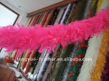 BY-S80 Turkey chandelle feather boa
