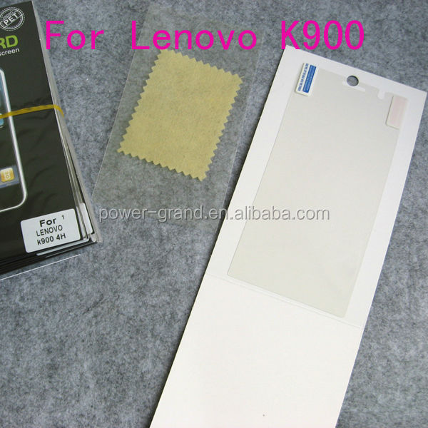 Anti-scratch Screen protector guard for Lenovo K900, Paypal Escrow etc.