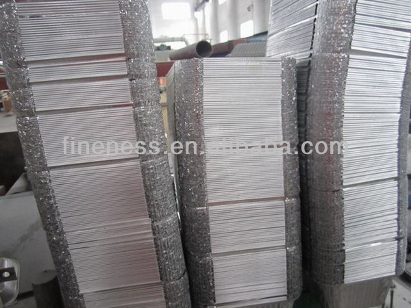 New style design foil containerawith flanging edge