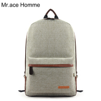 Mr.ace Homme hot selling Korean preppy style school backpack for girl & boy