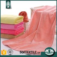 Brand new logo silk screen printed microfiber towel with high quality