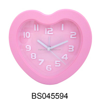 Honey Heart Shape Mini Table Alarm Clock for Wedding Decoration Gifts