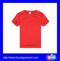 custom dry fit polyester plain tshirt wholesale cheap mesh breatheable t shirt promotional
