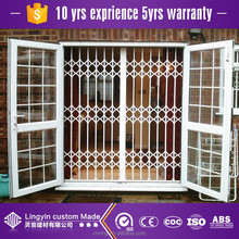 2017 iron window grill design burglar proof window with iron window grill color
