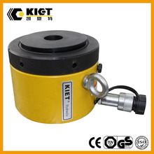 100 Ton Bridge Support Lock Nut Hydraulic Jack China KIET High quality products