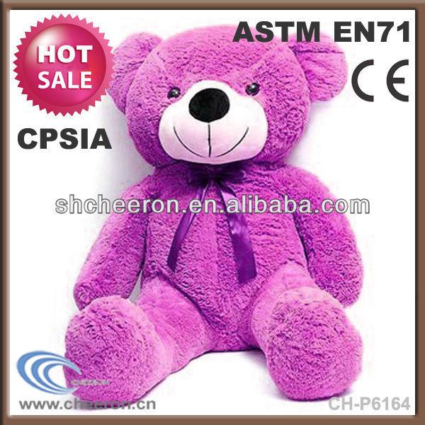 Cute plush stuffed toy teddy bear doll for baby