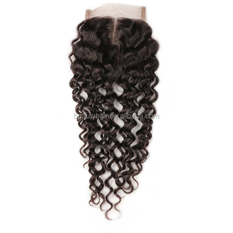 4x4 Free Part Silk Top Closure Human Hair Unprocessed Virgin Brazilian Body Wave Silk Closure With Baby Hair