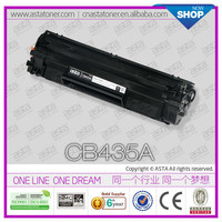 Compatible 35a cartridge CB435A for hp LaserJet P1002 printer