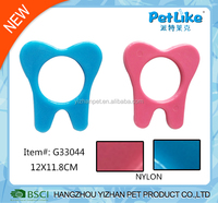 Nylon teeth shape small dog puppies chew toy