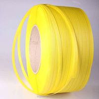 Yellow box packing pp strapping