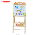 Education baby toys double side lifting board magnetic whiteboard