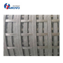 Hot Sale Bitumen/PP/PVC coating Landslide Repair polyester biaxial geogrid