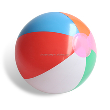 Hot selling customed clear pvc inflatable big beach ball for children and adult toys