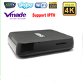 Wholesale DC 5V 2A Bluetooth V4.0 2GB DDR3 Android 4.4 TV box