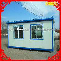 Steel structure prefab shipping container house made in China for sale