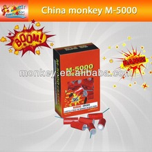 silver cracker strong voice bomb M-5000 Cracker Fireworks firecracker(M-5000)