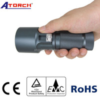superior hard anodized finish made by aluminum alloy diving torch light CV01