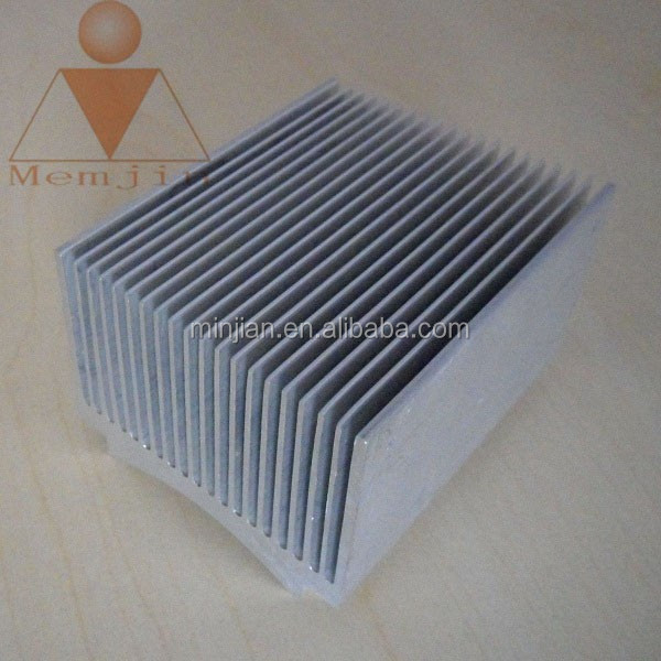 heat sink aluminium profile with cooling fins / aluminum heatsink manufacturer