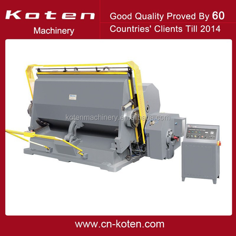 Corrugated Board Die Cutting Machine ML-2200 Sold To Ukrain