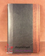Wood and Leather Tablet PC Case for iPadmini