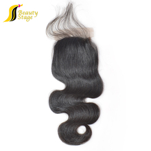 "Wholesale 10""-30"" top grade 7a body wave virgin brazilian hair $5 bundles with 5x5 lace closure"