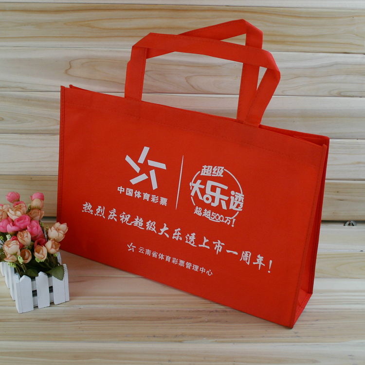 Customized Eco Friendly Shopping Bag Polypropylene Non Woven Tote Bag