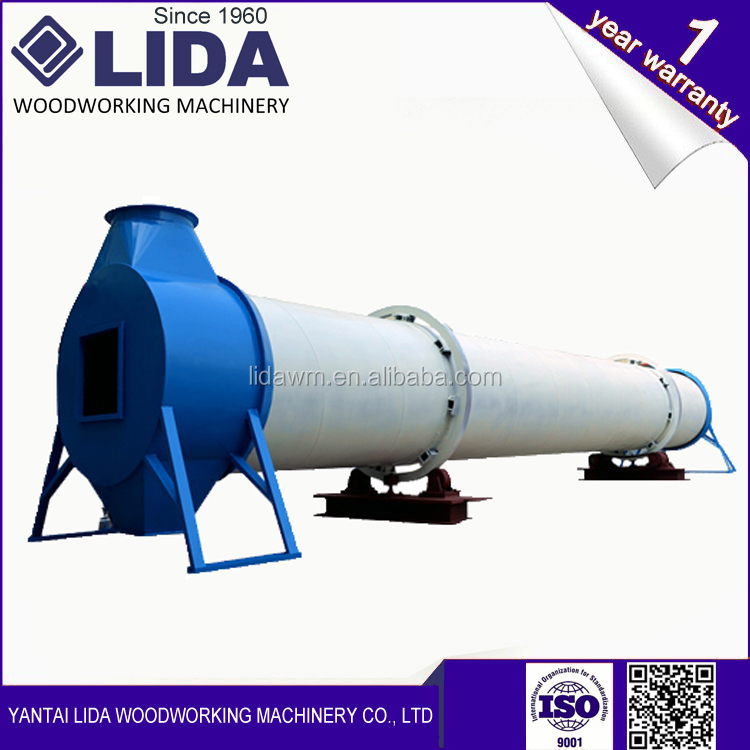 LIDA Corn /Peanut/ Sawdust Rotary Dryer LD1.8*18*1 philippines for sale