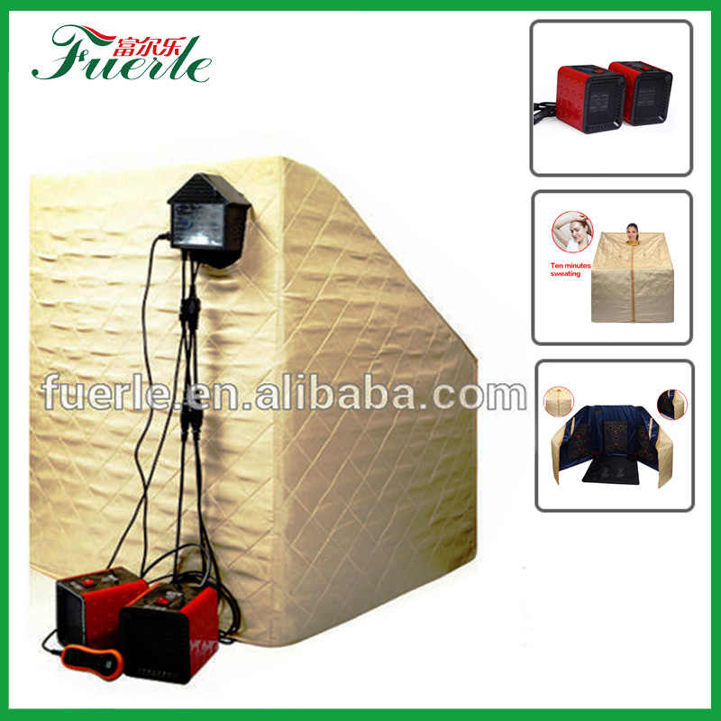 new invention 2017 guangzhou fuerlel computer control panel ir saunas portable steam room