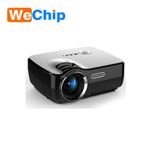 2018 Best selling Simplebeamer GP70UP Micro Wireless Projector 1400 lumens Android 4.4 HD Home Theater(Black)