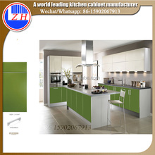Zhihua Mauritius Apartment Wholesale modular ready to assemble kitchen cabinets