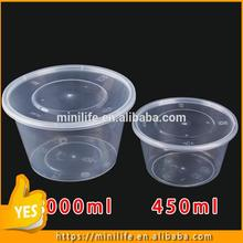 Food Grade fancy storage boxes, CE Standard two compartment food container