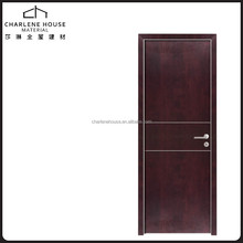 High Pressing door designs HPL surface wooden room doors
