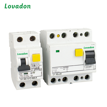 4P LF7 RCCB 40 Amps Residual Current Device Circuit Breaker