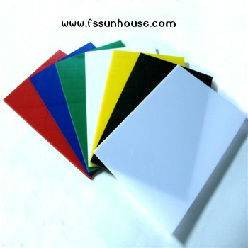 polystyrene sheets colorful <strong>plastic</strong> building <strong>material</strong>