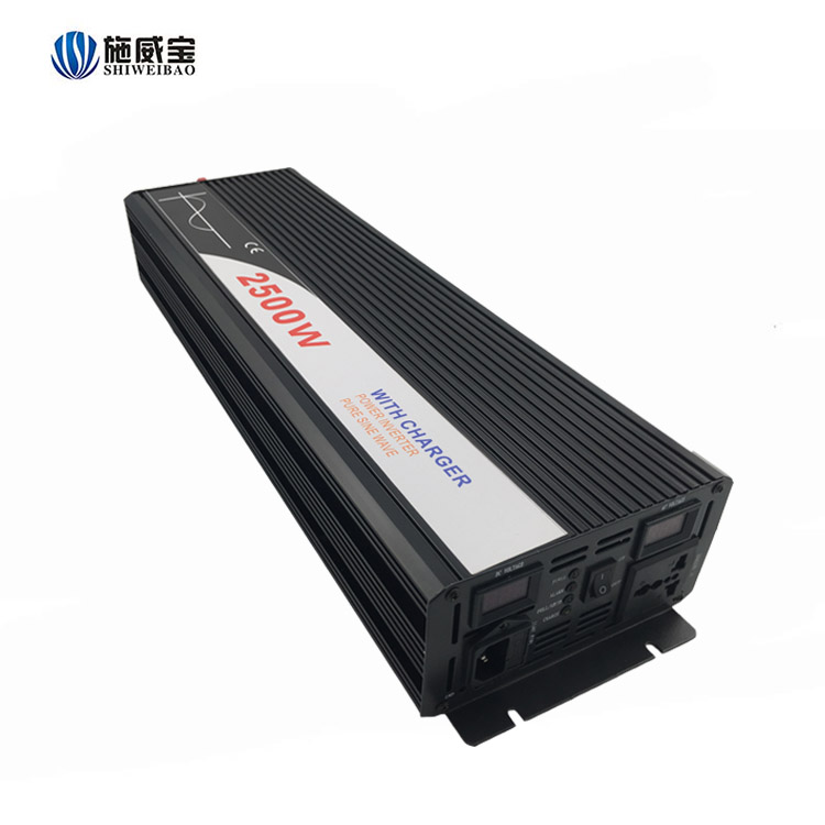 2500w 12vdc to ac 220v power inverter with charger no <strong>battery</strong>