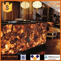 PFM Chinese popular luxury onsale agate elephant gifts for hotel& bar project design