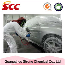 Car refinishing paint usage cement hardener