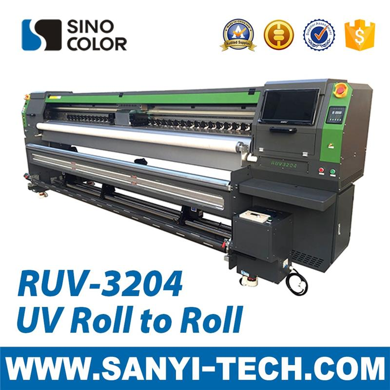 Cheap and Quality roll to roll digital printing machine RUV3204