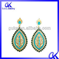 indian jhumka earring dangler,earrings,leaf shaped earrings