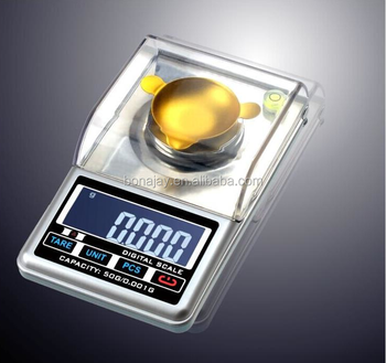 Digital Jewelry Carat Scale LCD Touch Electronic Gem Diamond USB Charge Scale LCD Display with Backlight