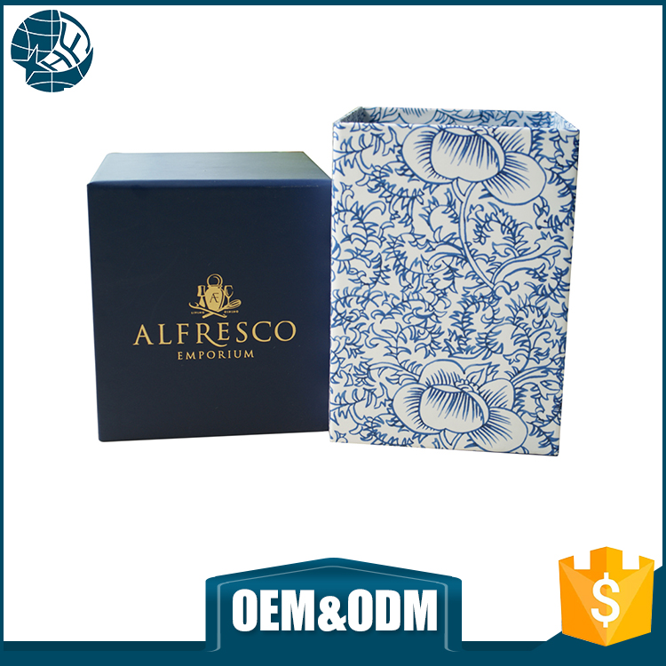 Luxury custom printing logo paper gift box 300 gsm hard packaging paper box
