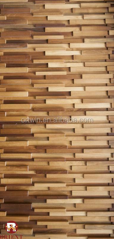 Teek Baroque Style Decorative 3d Wood Wall Panel - Buy ...