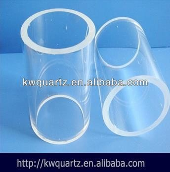 clear silica glass tube pipes for laser technology