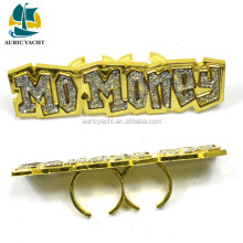 New Wholesale Discount plastic bird ring oblong eyelets